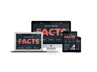 Tactical Fund Advisors ui website responsive web design responsive website