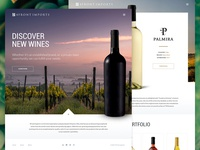 4Front Wine Imports Website