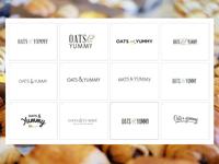 Oats & Yummy Logo Concepts