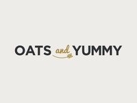 Oats and Yummy Logo Design