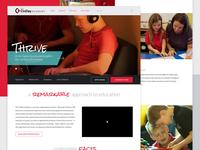 CinDay Academy Website Redesign