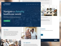 Centerprise Healthcare Consultants Website Redesign