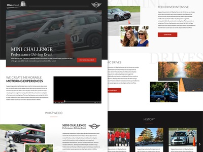 Miles Ahead MINI Cooper Challenge Concept Design