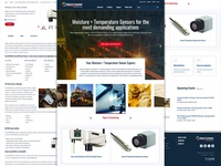Process Sensors Website Redesign