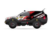 LAP Rally Raid Race Car Livery Design