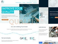 PQ Systems Website Redesign