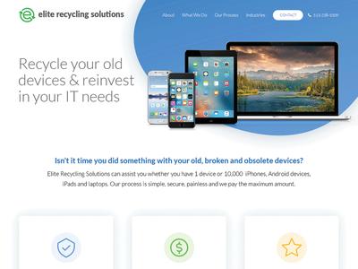 Elite Recycling Website