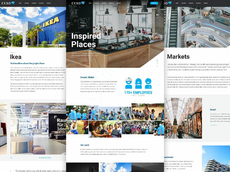 CESO Website Redesign