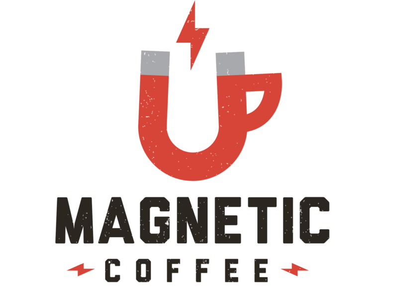 Magnetic Coffee Branding and Logo Design