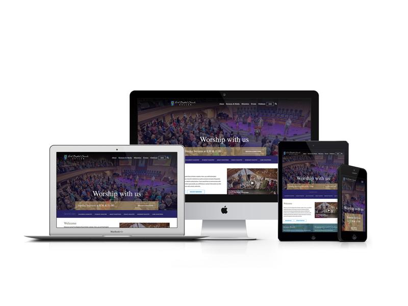 First Baptist Church Keller Responsive Website Design