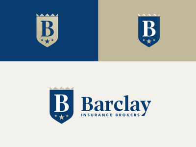 Barclay Logo Design insurance identitydesign logo design branding logo