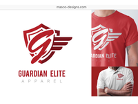 Final Business Logo for Guardian Elite Apparel