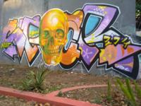 Graffiti Realistic meet letter