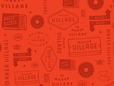 MV Pattern typography tools pattern design illustration logo branding