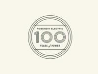 Unused Anniversary Logo