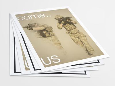 US Letter Poster Flyer Mockups