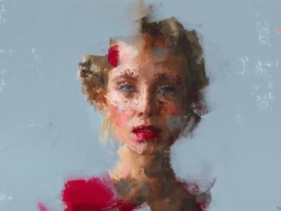 Atefehmkz Profile digital painting
