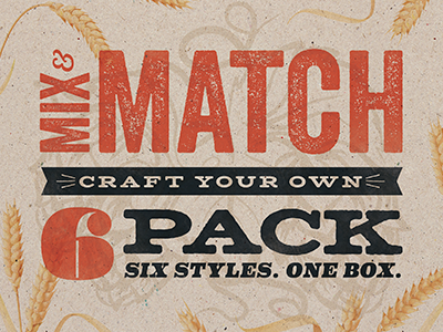 Mix & Match Program - Opt01 match mix packaging beer craft