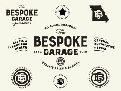 The Bespoke Garage Logo Concept