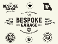 The Bespoke Garage Logo Concept