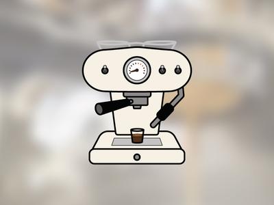 Espresso Machine infographic coffee icon espresso machine espresso