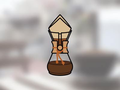 Chemex chemex infographic coffee icon