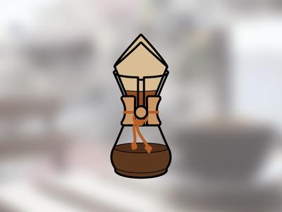 Chemex chemex infographic coffee icon