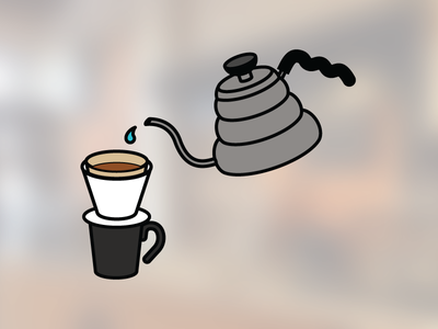 V60 v60 infographic coffee icon