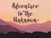 Unknown Adventures