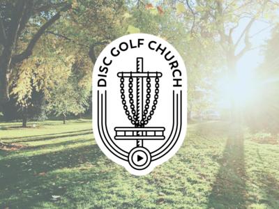 Disc Golf Church Logo identity logo church golf disc