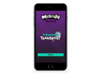 Museum Team - Start Screen