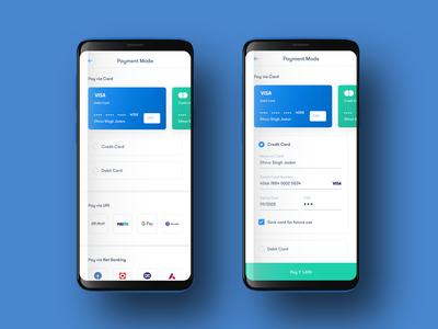 Payment Mode Selection payment app app uiux minimal transaction payment ui design