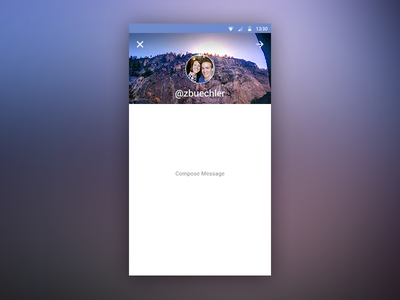 Simple Compose Screen android material design l android l material design compose message send