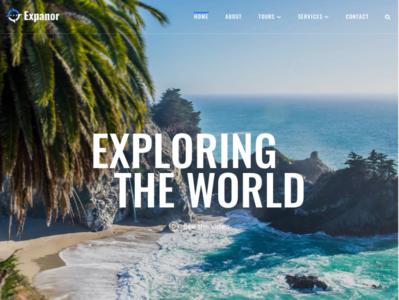 Travel Agency Multipurpose WordPress Theme - Expanor
