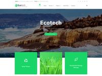 EcoTech - Environment Elementor WordPress Theme