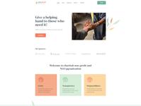 GiveWell - Donation Non-profit Website WordPress Theme