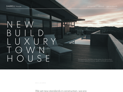 Darrell House - Quality Construction WordPress Theme blog design branding blog business themes elementor templates wordpress designs elementor wordpress theme