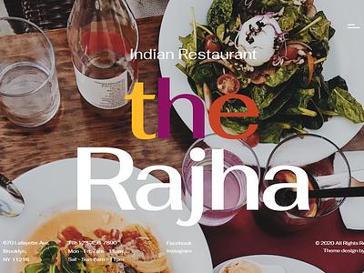 Rajha - Indian Restaurant WordPress Theme wordpress designs elementor templates design blog design themes wordpress design elementor wordpress theme