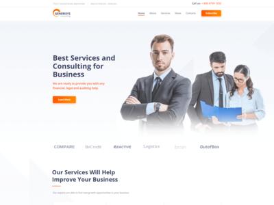 Business Consulting Multipurpose Classic Elementor - Generisys