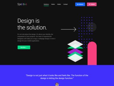Legible And Neat Material Design WordPress Theme - Spektive