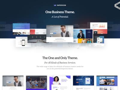 Multipurpose Corporate WordPress Theme - Imperion