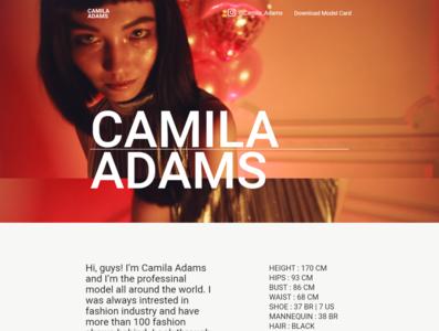 Vivid and Responsible Ladyboy Website - Camila Adams