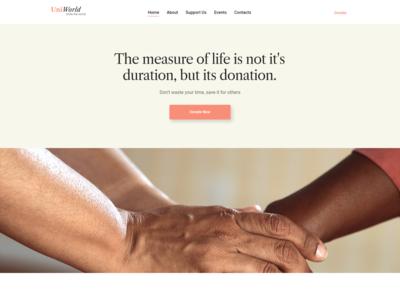 Donates And Charity WordPress Theme - UniWorld