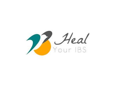 Heal your ibs logo design