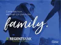 Regent Bank Family Ad