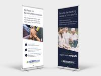 Regent Bank Retractable Banners