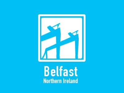 Belfast belfast uk landmark illustration illustrator city