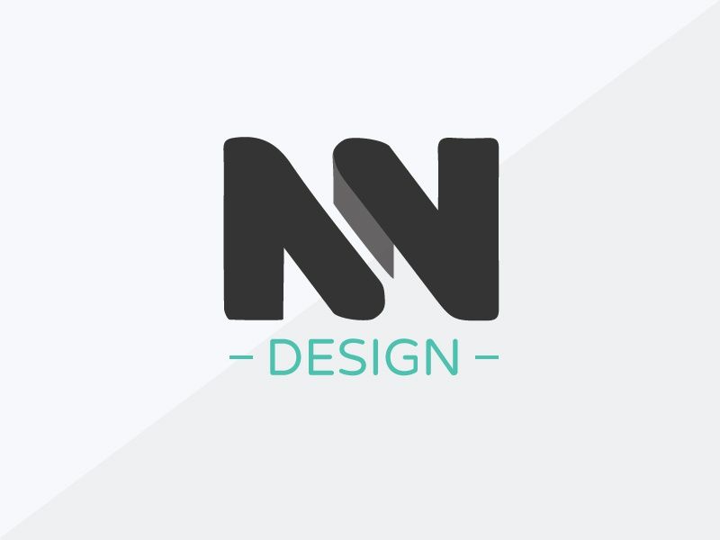 NN Design Rebrand design logo brand development illustrator nn design