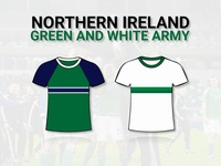 Northern Ireland - EURO 2016 Kits