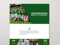 Northern Ireland - Road To France '16